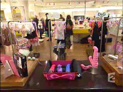 France 2, reportage au journal télévisé du 01 février 2005, godemichés dans un grand magasin